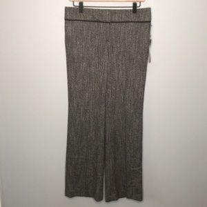 LOFT heathered gray trouser in marisa fit sz 4